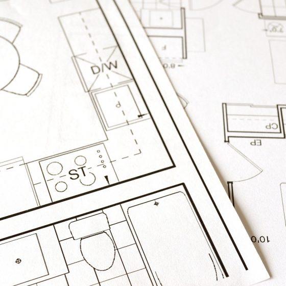 Plan de construction pour un bien immobilier
